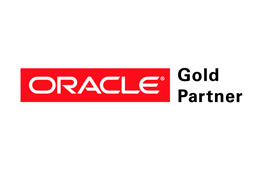 Oracle gold logo