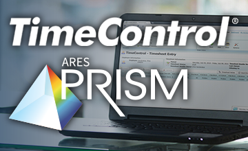 Timesheet Tracking Coming to ARES PRISM's Cost Management