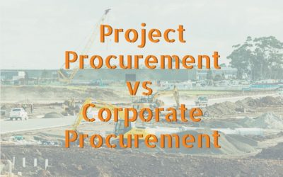 How Does Project Procurement Differ From Corporate Procurement?