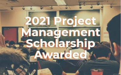 Announcing our 2021 Project Management Scholarship Winner